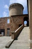 fästning gammala livorno Arkivfoton