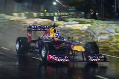 F1 auto 1st keer in Sri Lanka Stock Afbeeldingen