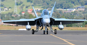 F-18B Hornet  Aircraft Stock Images