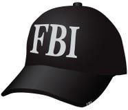 F.B.I. del sombrero Foto de archivo libre de regalías