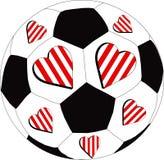 F blanca y roja del corazón C libre illustration