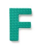 f-bokstav Arkivfoto