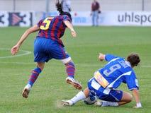 F.C Barcelona women's football team play against RCDE Espanyol Stock Photography