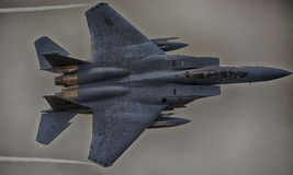 F15-C, from 493d Fighter Squadron Royalty Free Stock Photo