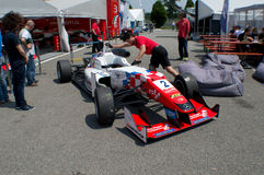 F3 car in the paddocks of  Monza Royalty Free Stock Photos