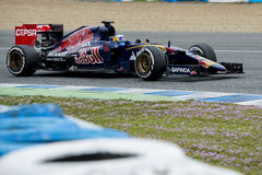 F1: Carlos Sainz Jr, team Toro Rosso Royalty Free Stock Photo