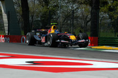 F1 2005 - Christian Klien. Red Bull during GP of Imola Year 2005 Stock Image