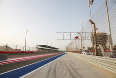 F1 circuito internacional Barém foto de stock royalty free