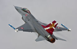 F-16 danés Imagenes de archivo