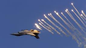 F-16 de Demoteam Fotografia de Stock