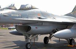 F-16 degli aerei fotografia stock libera da diritti
