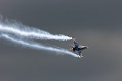 F-16 demo Royalty Free Stock Photography