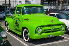 F-100 100% di Ford del camioncino Fotografia Stock Libera da Diritti