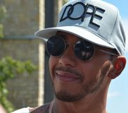 F1 Driver Lewis Hamilton Stock Image