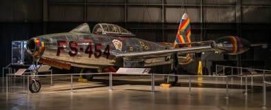 F-84E Thunderjet Image libre de droits