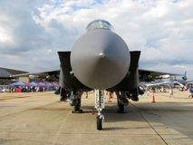 F15 Eagle Air Superiority Jet Fighter Royalty Free Stock Photos