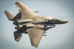 F15 Eagle jet aircraft Stock Photography