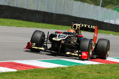 F1 essai Mugello 2012 Romain Grosjean photo stock