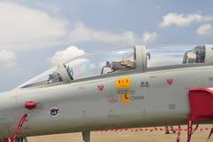 F5F αεριωθούμενος μαχητής Στοκ εικόνες με δικαίωμα ελεύθερης χρήσης