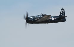 F8F Grumman Bearcat Stock Photo