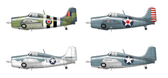 F4f Grumman wildcat Stock Photos