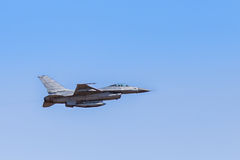 F16 falcon fighter jet Royalty Free Stock Photo
