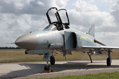F-4 fantom fotografia stock