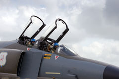 F-4 fantomu kokpit Zdjęcie Royalty Free