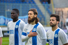 F FC Dnipro players Stock Image