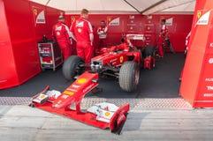 F1 Ferrari Στοκ Εικόνα