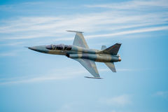 F-5 Fighter Jet royalty free stock photos