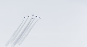F-16 fighter jets airshow Royalty Free Stock Image