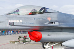 F 16 fighter Royalty Free Stock Image