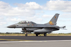F-16 fighter plane Royalty Free Stock Photography