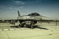F-16 Fighting Falcon Stock Photo