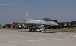 F-16 Fighting Falcon Stock Images