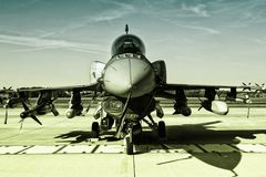 F-16 Fighting Falcon Stock Photography