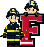F is for Fireman Stock Images