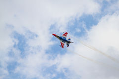 F16. Flying in Air show, Thailand Royalty Free Stock Image