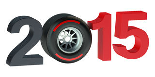 F1 Formula 1 Grand Prix  2015 concept Royalty Free Stock Images