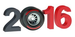 F1 Formula 1 Grand Prix  2016 concept Royalty Free Stock Photo