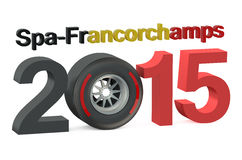 F1 Formula 1 Grand Prix in Spa-Francorchamps 2015  Belgium conce Stock Photo