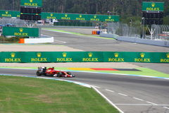 F1 Foto - de Auto van Formule 1 Ferrari: Fernando Alonso Stock Fotografie