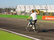 F1 foto - Nico Rosberg - materielfoto för formel en Arkivfoto