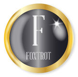 F For Foxtrot Stock Photos