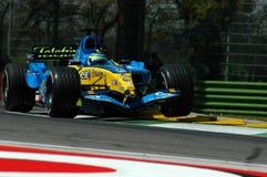 F1 2005 - Giancarlo Fisichella Fotografering för Bildbyråer
