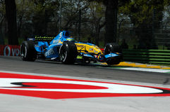 F1 2005 - Giancarlo Fisichella. Renault during GP of Imola Year 2005 Royalty Free Stock Photo