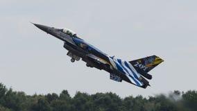 F-16 grec &#x22 ; Zeus&#x22 ; Photo stock
