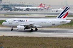F-GRHK Air France, Airbus A319-111 Imagens de Stock