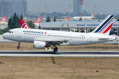 F-GRHO Air France, Airbus A319-100 Fotografia de Stock